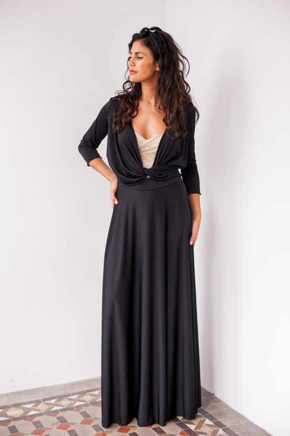 Elegant Long Black Dresses