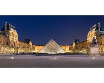 Louvre Museum; Custom Printed Photograph