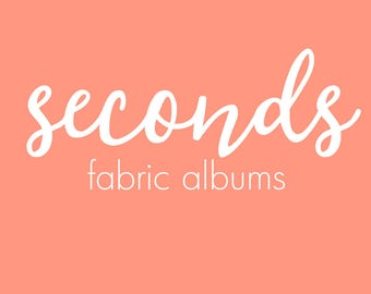 SECONDS SALE// Scrapbook, Gift, Empty Album, Baby Memory Book, Keepsake Book, Albums