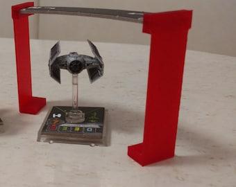 3D Printed X-Wing Miniatures Template Bridge