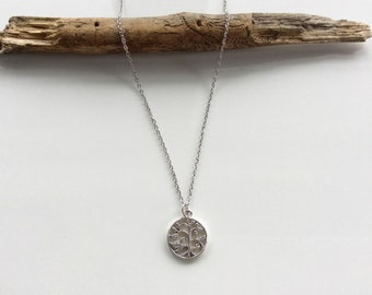 Tree of Life Necklace | Giving Tree Necklace | Silver Necklace