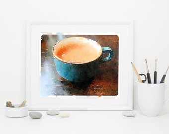 but first, coffee,  Illustration