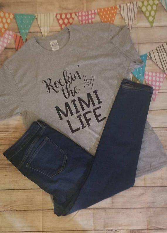 Rockin The Mimi Life Shirt