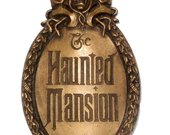Haunted Mansion Mini Gate Plaque