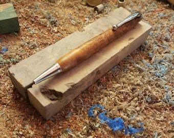 Handcrafted Wooden Pen - Brown Mallee Burl (Eucalyptus dumosa) - Wooden Pen - Wood Pen - Handcrafted Pen - Ballpoint Pen - Custom Pen