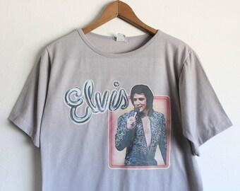 MEDIUM Vintage 60s/70s Elvis T-Shirt