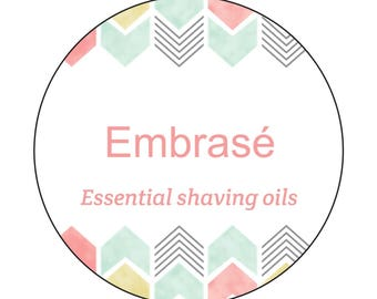 Embrase All Natural Hypoallergenic Essential Shaving Oils