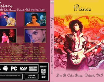 Prince Live 1986 Parade Tour Dvd Very Rare