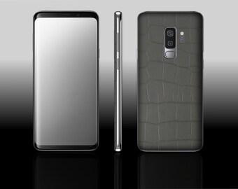 Samsung Galaxy S9 Plus Black Raptor Hyde Phone Skin Decal