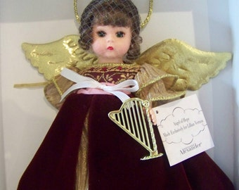Angel of Hope Madame Alexander 8 in doll MIB Christmas