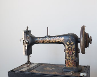 Vintage Minnesota Sears Sewing Machine, For Decorative Purposes Only