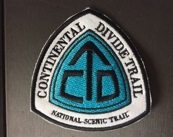 Patch Continental Divide National Scenic Trail - Montana - Idaho - Wyoming - Colorado - New Mexico - Triple  Divide Peak - Trekking