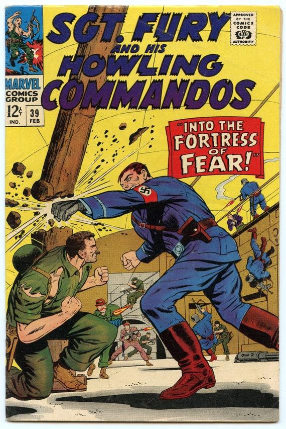 Sgt. Fury 39 Feb 1967 VG+ (4.5)