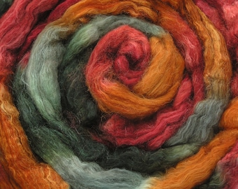 150g Space-dyed  Baby Camel Down/ Silk Top 50/50  -  Roughtor