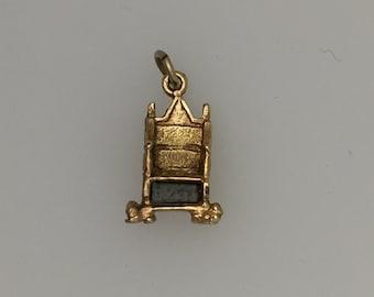 Queen Elizabeth's Coronation Throne - 9ct Gold.