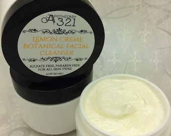 Lemon Creme Botanical Facial Cleanser