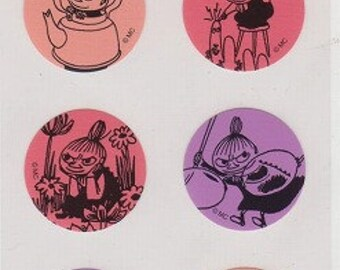 Moomin Stickers - Reference A3702
