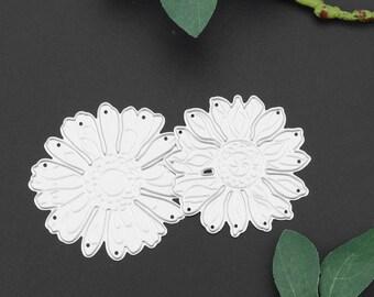 2 Pc Flower Set - Layering Flower - 2 inch