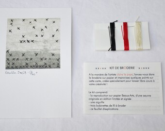 Card Kit to embroider