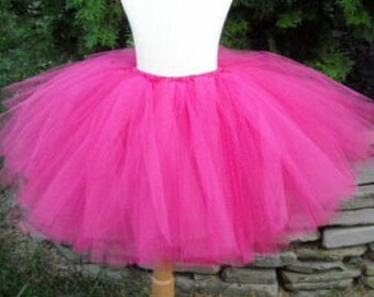 Fuchsia Pink Tutu RTS Adult Small 14 inches