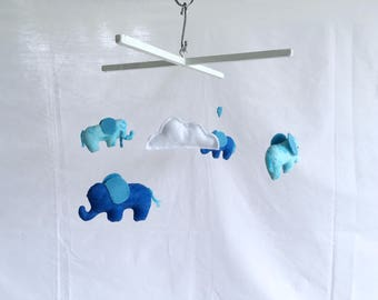Blue Elephant Mobile