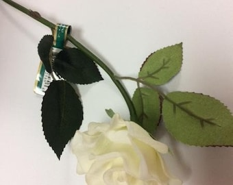 Real Touch Single Stem Sweet Pink Rose SB025