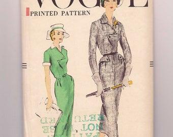 1957 Vogue Dress Pattern #9264 Size 14
