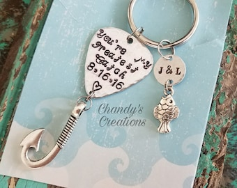 You're My Greatest Catch, Keychain, Gift for Husband, Fish, Fishing Lure, Fisherman Gifts, Fishing Lure, Father's Day, Dad, Boyfriend, Lure