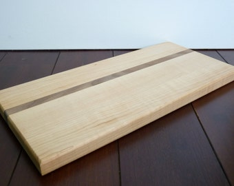 Maple and Walnut Cutting Board