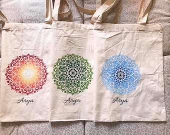 """Mandala"" cotton bags"
