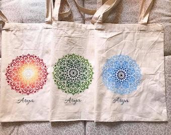 """""""Mandala"""" cotton bags"""
