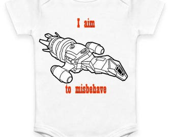 Firefly - I aim to Misbehave - Baby Clothes