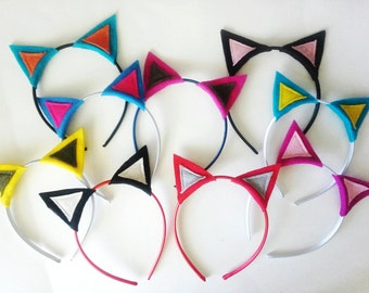 Cat Ears Headband Pack, Photo Booth Props