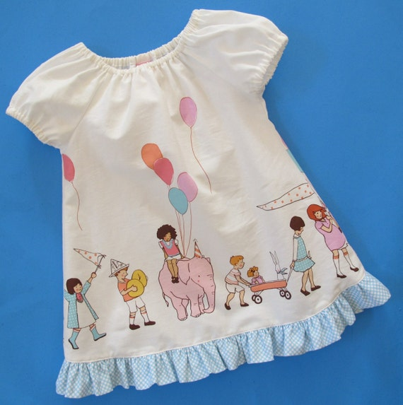 Baby Dress Pattern Beginner Sewing Pattern Easy Baby