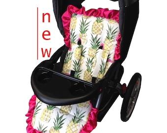 Pineapple Stroller liner