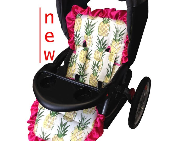 Featured listing image: Pineapple Stroller liner