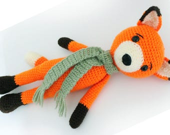 Crochet Fox PATTERN Fox - Amigurumi - Fox pattern - Fox -Crochet - doll - toy - baby shower