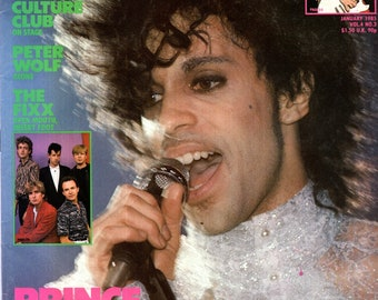 Record Magazine January 1985 Issue PRINCE Cover