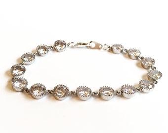 Crystal-Braut - Braut Armband - Armband Kristall Armband