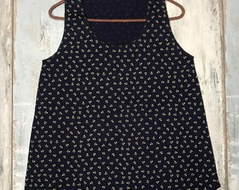 Women's tank tops, anchors, hipsters, marine, woman