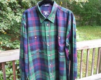 Burberry Shirt, Mens shirt, XL, burberry, Plaid shirt, cotton shirt, mens cotton shirt, casual shirt