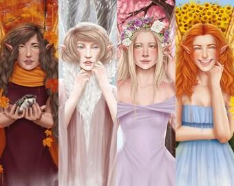 The Season Fairies Collection