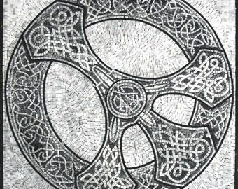 Celtic Art Mosaic - Pax
