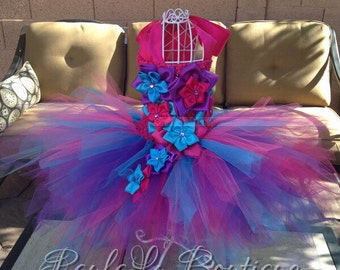Neon Fairy, Luxtury Dress, Costume