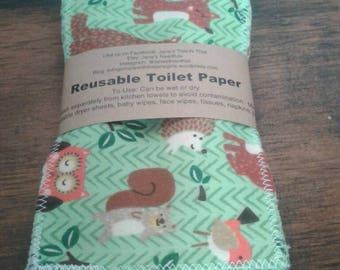 Napkins reusable cloth baby wipes family cloth