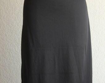 Vintage noir que moitié glisser par Simone taille petit label de l'union