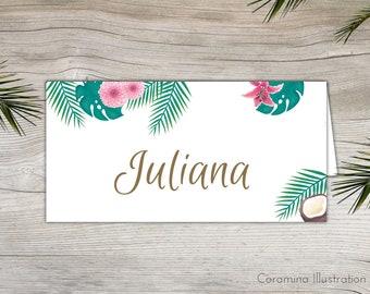 Tropical nameplates Download