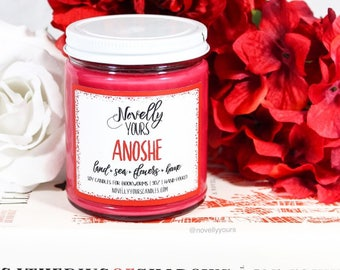 Anoshe | 9oz jar | Shades of Magic Bookish Soy Candle | Book Candle | Book Gift | Scented Candle | Book Candle | Bookish Gift