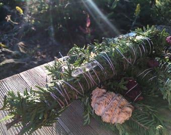 Forest Fresh Smudge Bundle - Cedar Smudge Stick