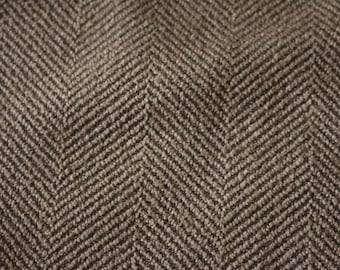 6 Gold tweed Herringbone Upholstery fabric